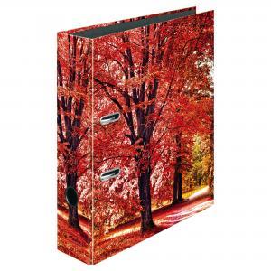 Zakladač pákový Herlitz 8cm Stromy