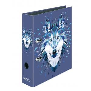 Zakladač pákový Herlitz maX.file Wild Animals 8cm vlk
