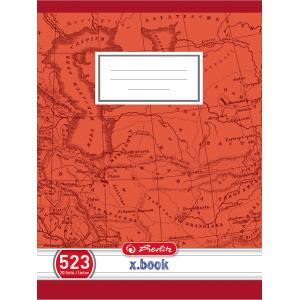 Zošit 523 A5 20 listov linajkový