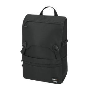 Tínedžerský batoh be.bag 28x13x43cm objem 25l Black