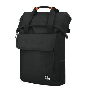 Tínedžerský batoh be.bag 32x13x45-63cm objem 25-30l Black