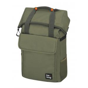 Tínedžerský batoh be.bag 32x13x45-63cm objem 25-30l Olive