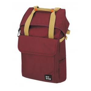 Tínedžerský batoh be.bag 32x13x45-63cm objem 25-30l Ruby