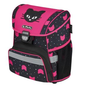 Školská taška Herlitz Loop Čierna mačka