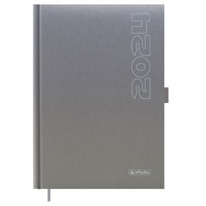 Diár Cheftimer A5 1D/1st šedý 2022