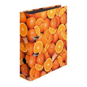 Zakladač pákový Herlitz 8cm pomaranče