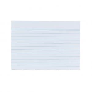 Papierové linajkové kartičky A6 Herlitz
