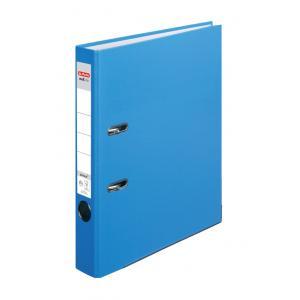 Zakladač pákový  Herlitz A4 5cm Color Blocking baltická modrá
