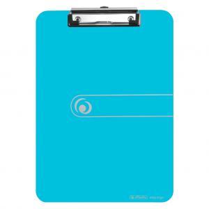Písacia podložka A4 Herlitz Easy Orga transparentná modrá