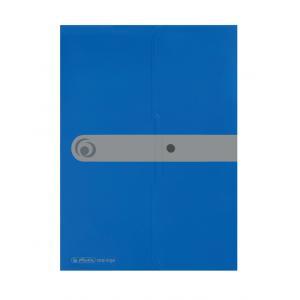 Obal na dokumenty s uzatváraním Herlitz A4 modrý