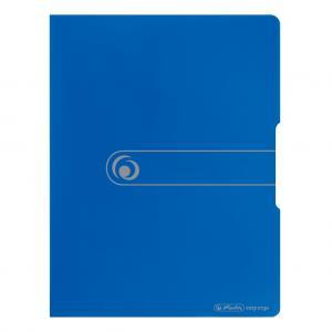 Katalógová kniha 20 mäkká Herlitz Easy Orga modrá