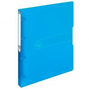 Zakladač 4-krúžkový Herlitz Easy Orga PP 3cm transparentný modrý