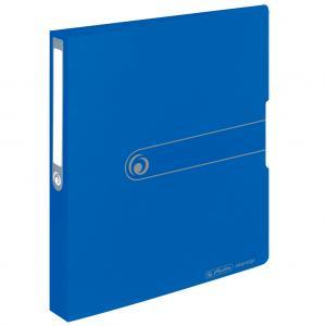 Zakladač 2-krúžkový Herlitz Easy Orga PP 2,5cm nepriehľadný modrý