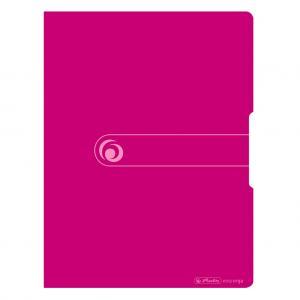 Katalógová kniha 20 mäkká Herlitz Easy Orga tmavoružová