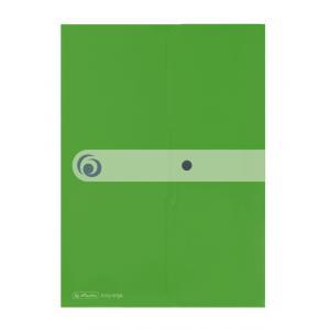 Obal na dokumenty s uzatváraním Herlitz A4 jablkovo zelená