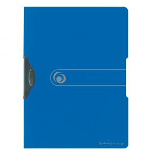Obal s klipom plastovým Herlitz Easy Orga modrý