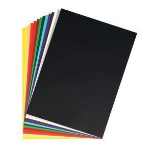Farebný výkres Herlitz 50x70cm 10 hárkov 300g tmavožltý