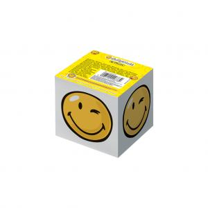 Blok kocka lepená Smiley World 700 listov 8x8x7cm
