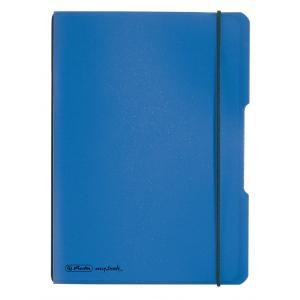 Zošit my.book Flex modrý A5 40listov štvorčekový  PP