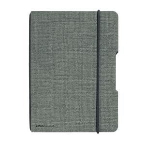 Zošit my.book Flex sivý A4 40 listov štvorčekový ľanový
