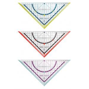 Trojuholník s uhlomerom Herlitz my.pen mix farieb