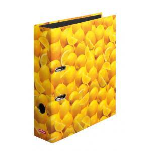 Zakladač pákový Herlitz 8cm citróny