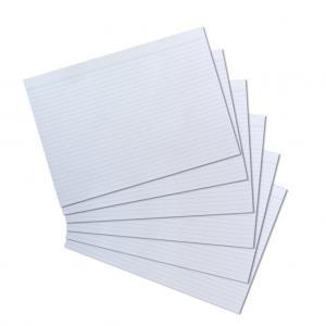 Papierové indexové kartičky A4 Herlitz