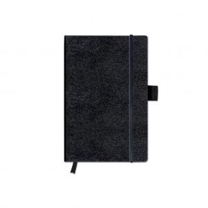 Zápisník Herlitz A6 linajkový čierny