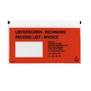 Vrecká na sprievodky Herlitz DL 22x11 100 ks