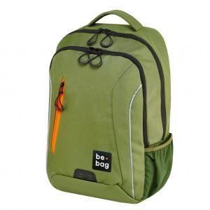 Tínedžerský batoh be.bag 28x19x43 objem 18l zelený
