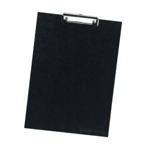 Písacia podložka A4 Herlitz čierna kartónová