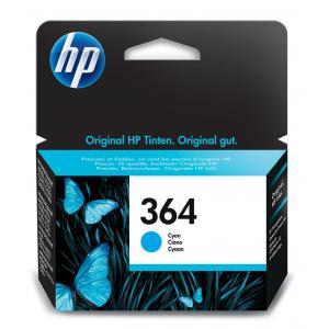 Atrament HP CB318EE 364 cyan Photosmart C5380, C6380,D5460