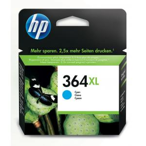 Atrament HP CB323EE 364 cyan XL