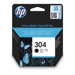 Atramentová náplň HP N9K06AE HP 304 pre DeskJet 2620/2630/3750/3760/3762 black (120 str.)