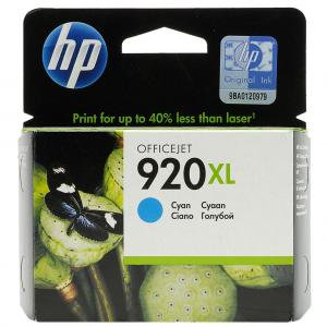 Atrament HP CD972AE azúrová HP920XL