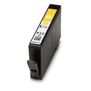 Atrament HP 3YL83AE, HP 912XL, yellow