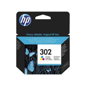 Atramentová náplň HP F6U65AE HP 302 pre DeskJet 2130/3639/OfficeJet 3830/4650 color (165 str.)