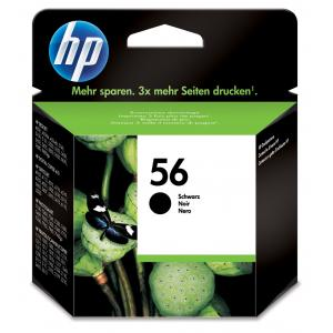 Atrament HP C6656AE, 19ml čierny