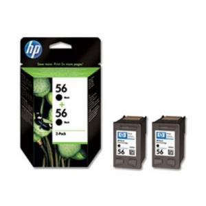 Atrament HP C9502AE 2xC6656EE #56