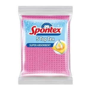 Utierka hubková Spontex 5 Top Tex 5 ks