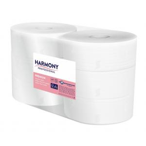 Toaletný papier 2-vrstvový Harmony profesisonal Jumbo 26 cm