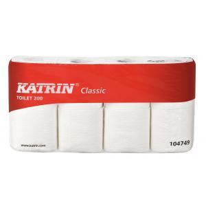 Toaletný papier 2-vrstvový Katrin Classic Toilet 200 8 ks