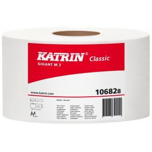 Toaletný papier 2-vrstvový Katrin Classic Gigant M 23cm