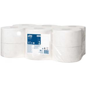 Toaletný papier 2-vrstvový TORK Mini Jumbo 18,8cm biely 12 ks