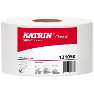 Toaletný papier 2-vrstvový KATRIN Classic Gigant S 18cm