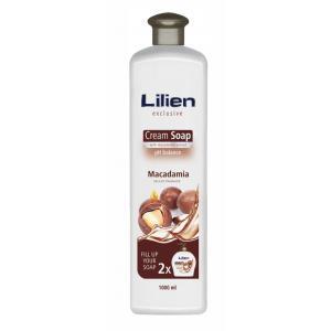 Tekuté mydlo krémove Lilien 1l Macadamia