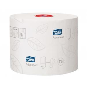 Toaletný papier 2-vrstv. TORK Mid-size biely, návin 100m T6 (27 ks)