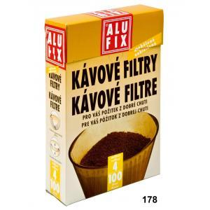 Kávové filtre Alufix veľkosť 4