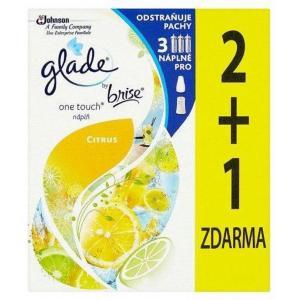 Glade Touch&Fresh NÁHRADNÁ NÁPLŇ (2+1ks) 3x10ml Lemon