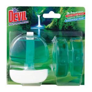 Dr. Devil WC záves gél 3 x 55ml Natur Fresh